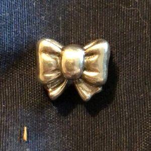 Pandora Silver Bow Charm
